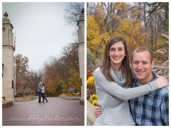 Bloomington Indiana Engagement Session