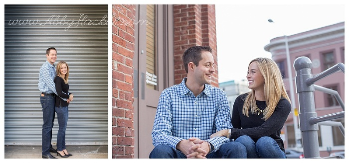 Mass Ave Indianapolis Engagement