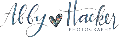 Abby Hacker Photography Blog logo